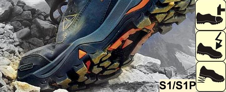 Pracovní bezpečnostní obuv S1 - ochrana špice d9bf28a642