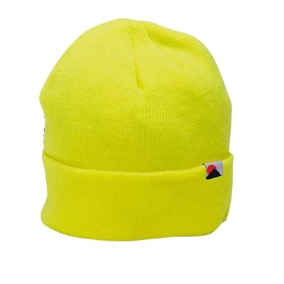 Čepice zimní reflexní ELYSEE žlutá  56c97b98e4