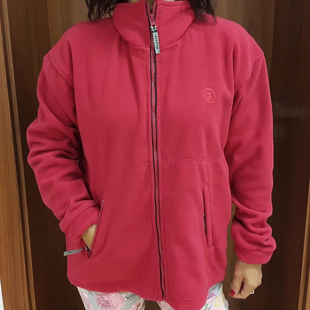 14249ca7529 GRANIT Mikina dámská fleecová červená