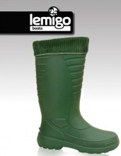Holínky zimní LEMIGO THERMO zelené