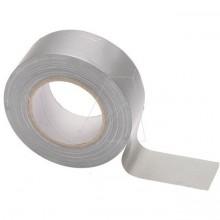 Páska HEAVY DUTY 50 mm x 50 m izolační stříbrná