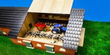 Zemědělský statek se stájí pro kravičky KIDS GLOBE FARMING