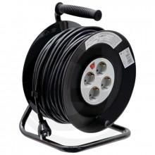 Naviják s elektrokabelem 230V/16A IP 20 cívka 50 m