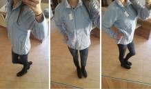 Mikina dámská EGER fleecová modrá