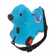 Dětský kufr a vozík modrý pejsek BIG Bobby 800055352