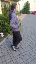 Kalhoty dámské ACODE černé do gumy