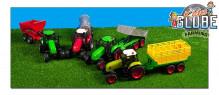 Traktor s návěsem KIDS GLOBE FARMING