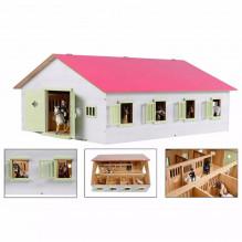 Stáj pro koníky 7 boxů KIDS GLOBE HORSES 610189