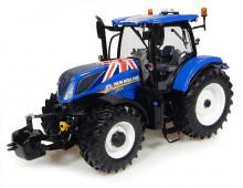Traktor NEW HOLLAND T7.255 Union Jack Edition UNIVERSAL HOBBIES UH 4901