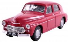 Auto Warszawa M-20 červená