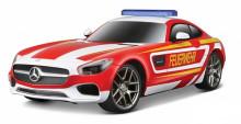 Model RC MERCEDES BENZ AMG GT hasiči