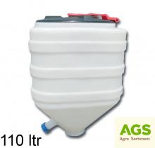 Nádrž plastová 110L s víkem