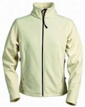 Mikina dámská A-CODE fleecová krémová bílá
