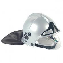 Hasičská dětská helma stříbrná
