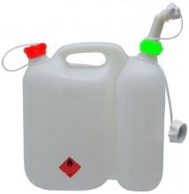 Kanystr plastový kombinovaný PROFI 3,5 L + 1,5 L