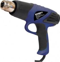 Pistole horkovzdušná KOBE HAG200-D 2000 W s LCD displejem