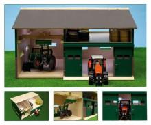 Přístřešek na zemědělské stroje s půdním prostorem GLOBE