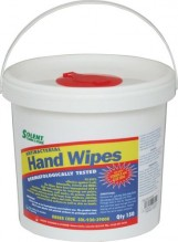 Ubrousky na ruce SOLENT HAND TEXTURED WIPES 150 ks