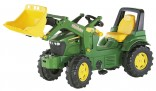 Rolly Toys Traktor šlapací JOHN DEERE 7930 s čelním nakladačem