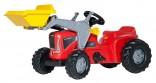 Traktor šlapací FUTURA TRAC s čelním nakladačem ROLLY TOYS