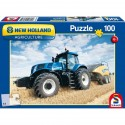 Schmidt Puzzle Traktor NEW HOLLAND a lis NH 1290 100 dílků