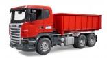 Auto SCANIA LKW nákladní s kontejnerem BRUDER 03522