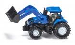SIKU 1355 Traktor NEW HOLLAND s čelním nakladačem 1:87
