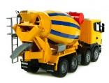 Automíchačka SCANIA R-serie žlutá BRUDER 03554