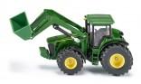 SIKU 1982 Traktor JOHN DEERE 8430 s čelním nakladačem 1:50