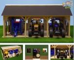 Přístřešek na zemědělské stroje KIDS GLOBE FARMING