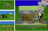 Klec pro krmivo s kravičkou KIDS GLOBE FARMING
