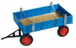 Přívěs modrý nízké bočnice EILBULLDOG KOVAP 0407