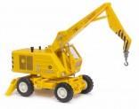 BUSCH 42876 Nakladač samojízdný T 174-1 ACZ žlutý 1:87