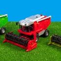 Sklízecí mlátička červená KIDS GLOBE FARMING