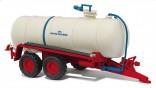 BUSCH 42864 Fekální cisterna na kejdu HTS 100.27 červená 1:87