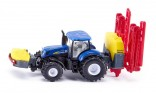 SIKU 1799 Traktor NEW HOLLAND s neseným postřikovačem 1:87