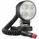 Světlomet diodový pracovní LED 12V/24 přenosný s magnetem
