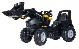 Traktor šlapací DEUT FAHR AGROTRON 7250 TTV WARRIOR s čelním nakladačem ROLLY TOYS