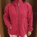 GRANIT Mikina dámská fleecová červená