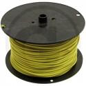 Kabel 1 pramenný PVC 1 CMSM žlutý