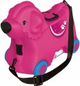 BIG Bobby Dětské odrážedlo, kufr a vozík růžový pejsek
