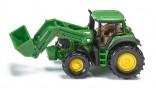 SIKU 1341 Traktor JOHN DEERE 7530 s čelním nakladačem 1:87