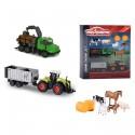 Sada zemědělských modelů a figurek MAJORETTE 9 ks