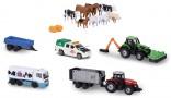 Sada zemědělských modelů a figurek MAJORETTE 15 ks