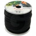 Startovací šňůra PREMIUM 4,5 mm černá