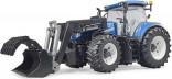 Traktor NEW HOLLAND T7.315 s čelním nakladačem