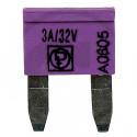 Pojistka nožová MINI 3A fialová DIN 72581