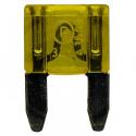 Pojistka nožová MINI 20A žlutá DIN 72581