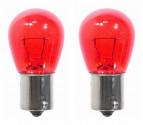 Žárovka 12V/21/5W BaY15d dvouvláknová RED 2ks