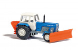BUSCH 8699 Traktor FORTSCHRITT ZT 300 E modrý silniční 1:120